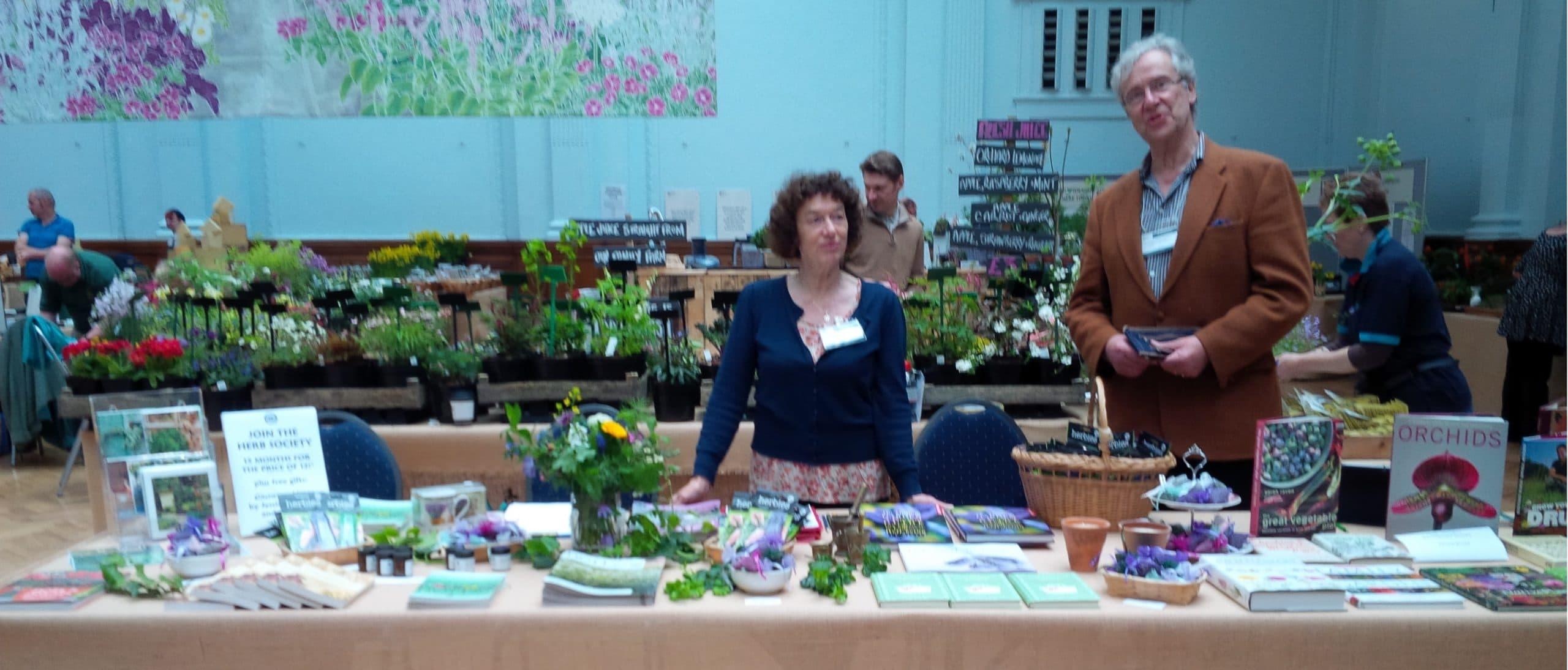 secret garden sundays herb society stall