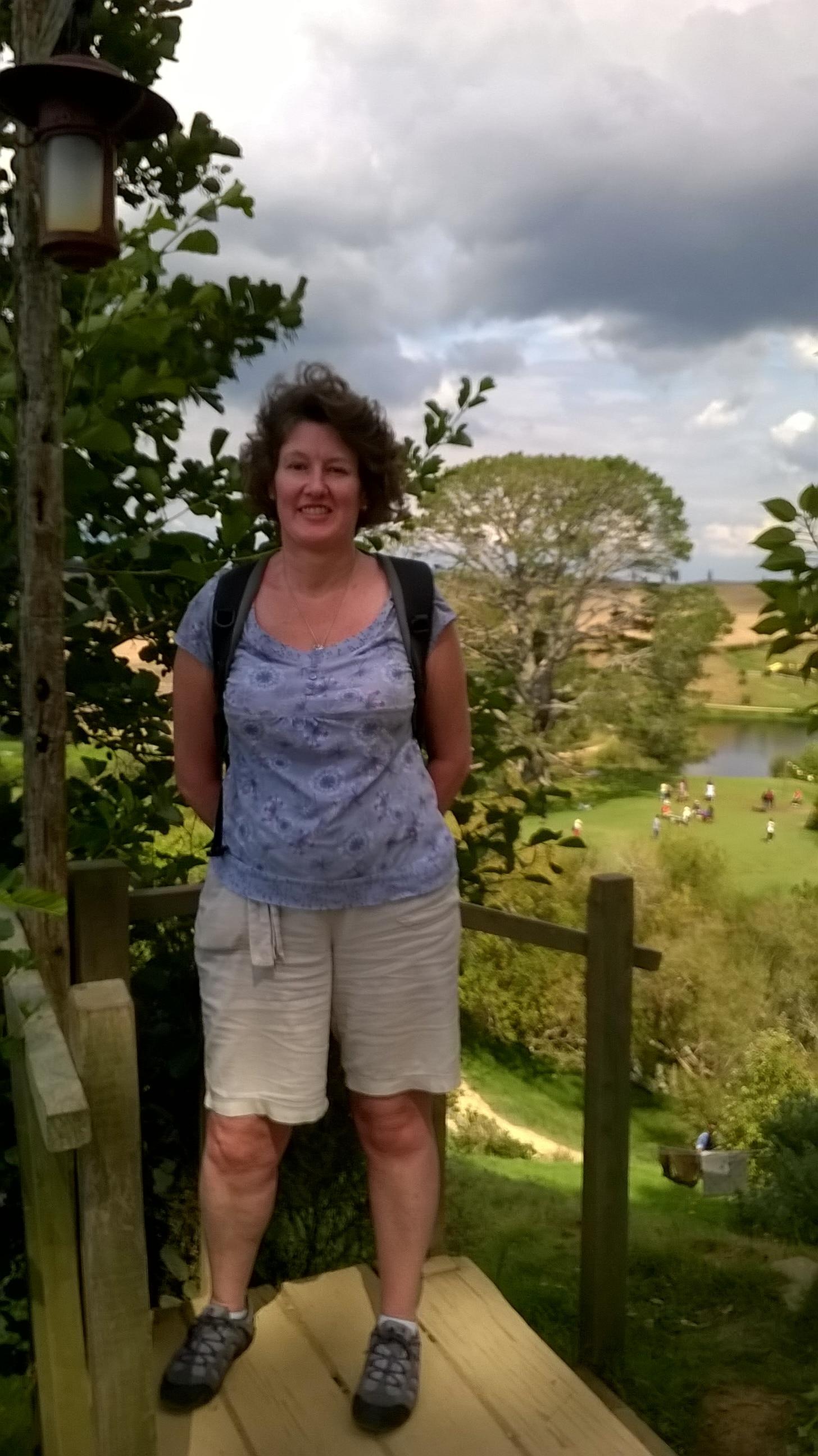 Ruth at Hobbiton