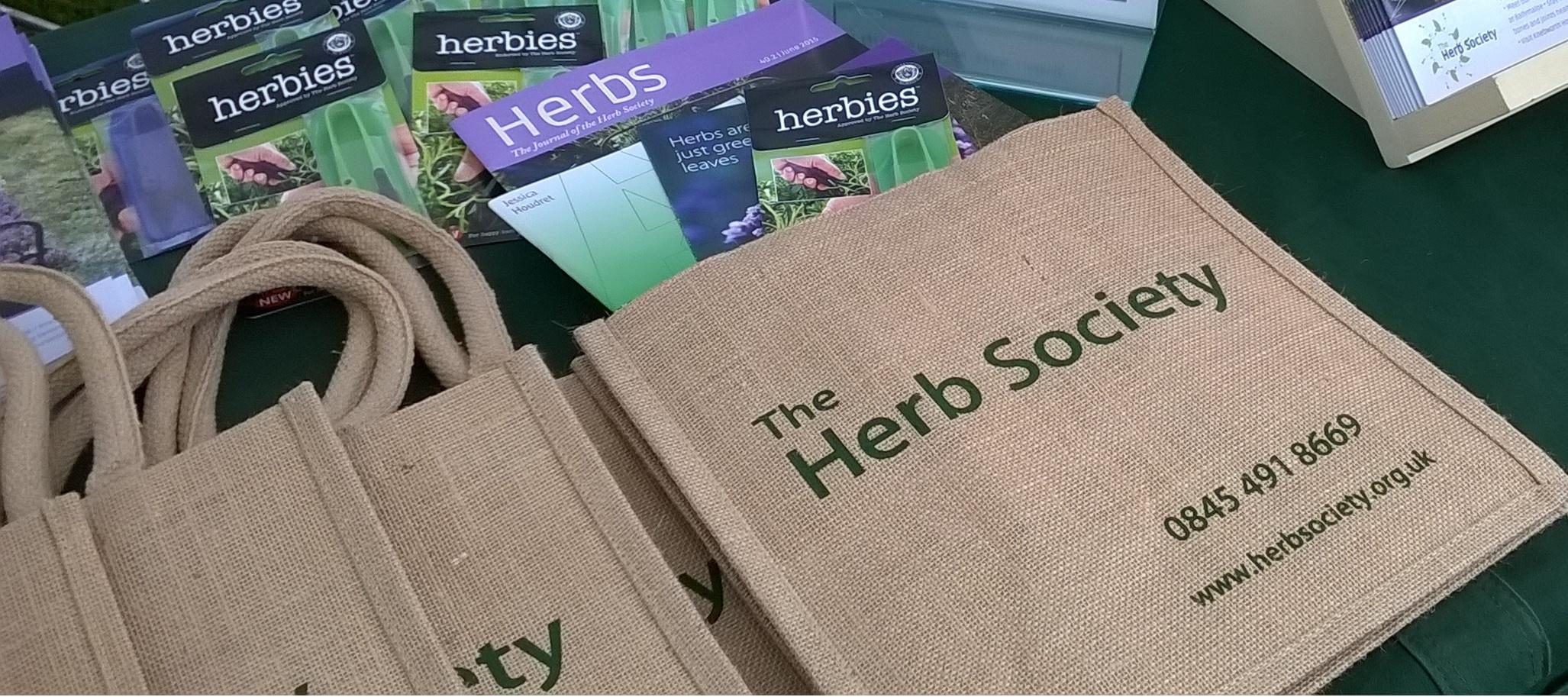 herb society membership pack