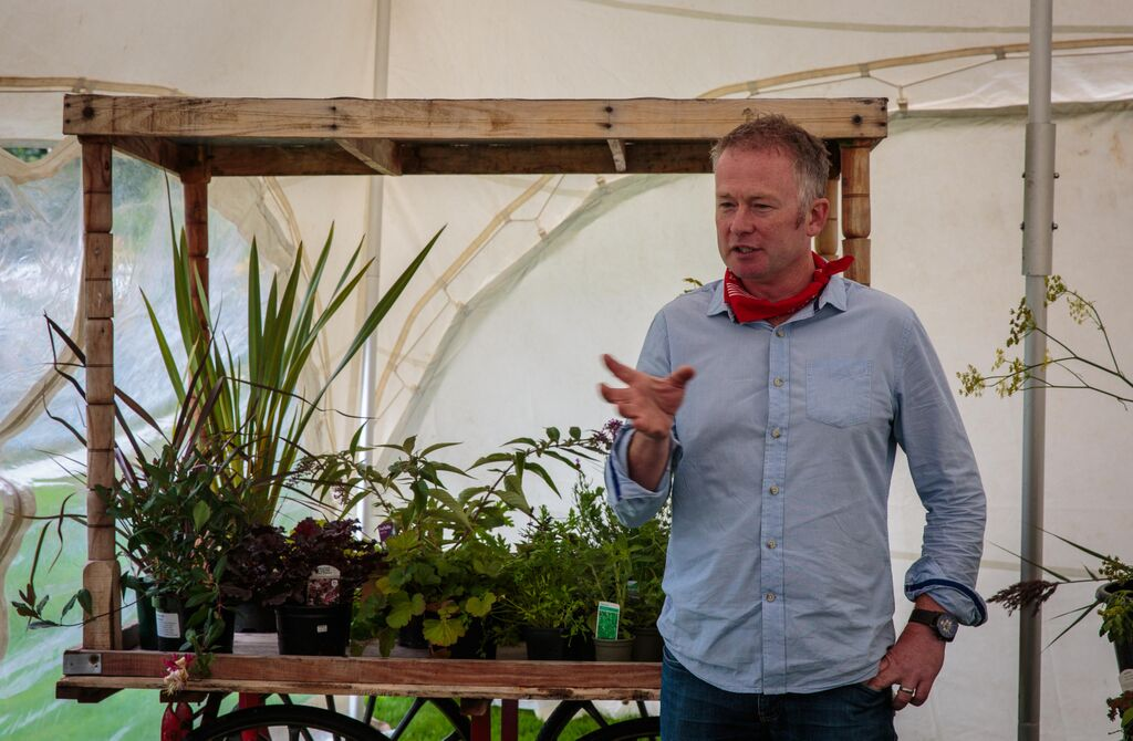 Toby Buckland speaks about herbs